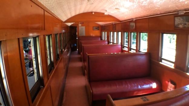 Kuranda Scenic Railway Heritage Seating