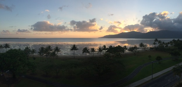 The Beautiful Cairns Harbour Sunrise